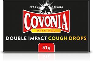 Covonia Original Double Impact Cough Drops - 51gm