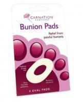 Carnation Oval Bunion Pads - 4 Pads