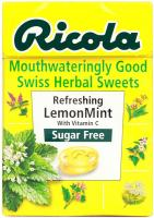 Ricola Swiss Herbal LemonMint - 45gm (Suger-free)