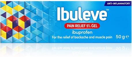 Ibuleve Pain Relief Gel 5% 50G