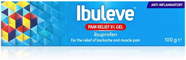 Ibuleve Pain Relief Gel 5% 100G