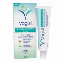 Vagisil Bladder Weakness Care 2-In-1 Fresh And Soothing Cream - 30gm