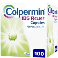 Colpermin IBS Relief Capsules - 100 Capsules (Peppermint Oil)