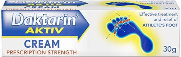 Daktarin Aktiv Cream - 30gm