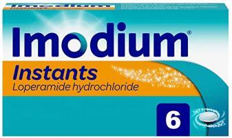 Imodium Instants Loperamide Hydrochloride Capsules - 6 Capsules