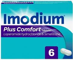 Imodium Plus Comfort Tablets - 6 Tablets