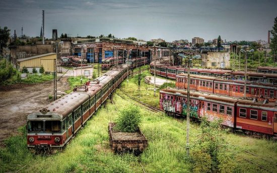 Częstochowa Train Depot