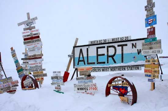 Alert: The Most Northern Settlement In The World