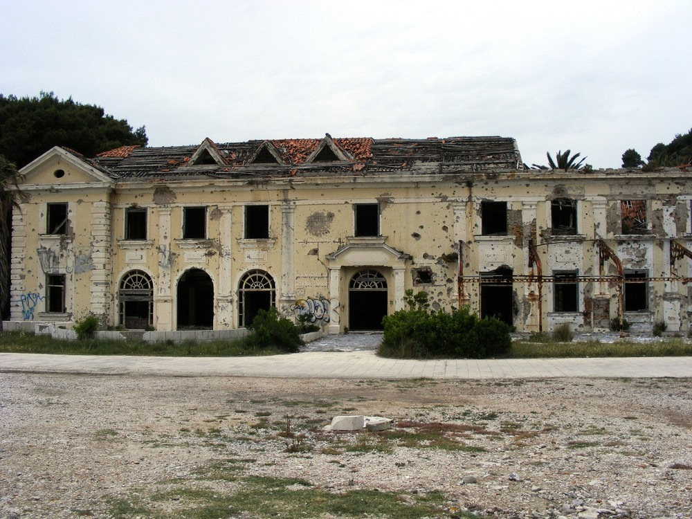 The Abandoned Hotels of Kupari 11