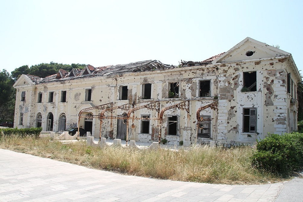 The Abandoned Hotels of Kupari 3