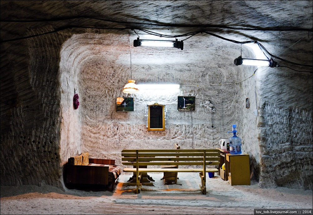 The Soledar Salt Mines 11