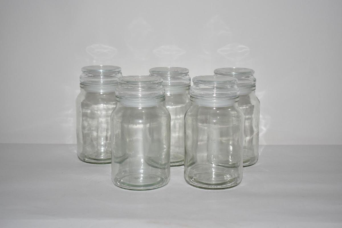 Set Of 5 Douwe Egberts Empty Coffee Jars 550 Ml Ebuygumm Buy Sell