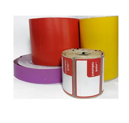 Custom thermal labels header