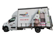 Priory Delivery Van