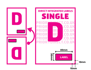 Single D Icon