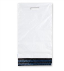 305mm x 406mm - White Poly Mailers with Handle