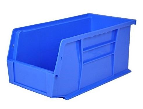... Blue Plastic Storage Bin   6 Bins. Up To