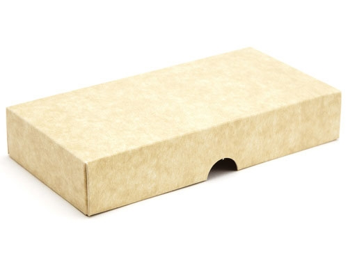 159 X 78 X 32mm Natural Kraft Gift Boxes Lid