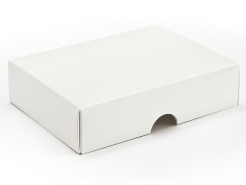 112 X 82 X 32mm White Gift Boxes Lid