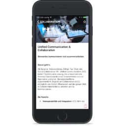 Mobile app for telecom provider