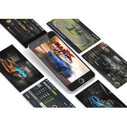 Interfaces for CarX Drift Racing