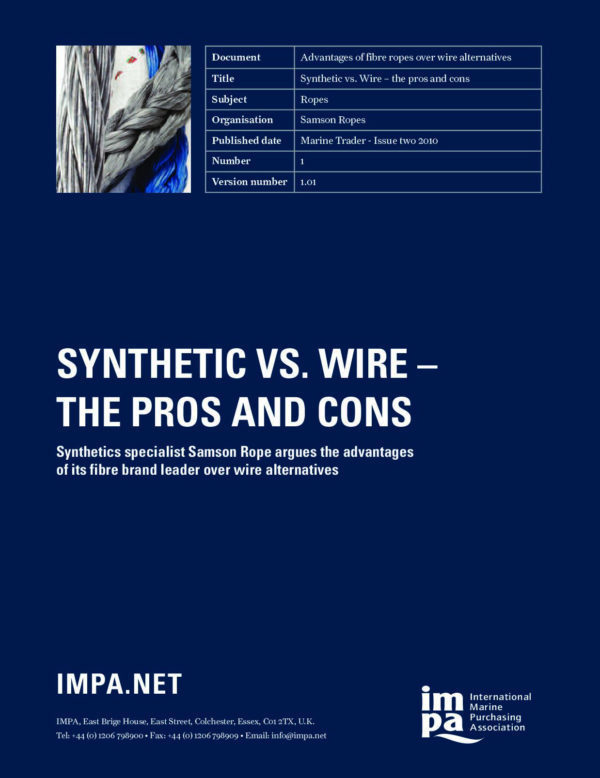 Briefing paper synthetic vs wire the pros cons mtime20160607101220 168 mtime20210225122828focalnonetmtime20210803195223