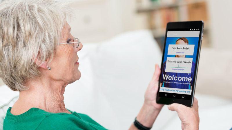 NHS approved app