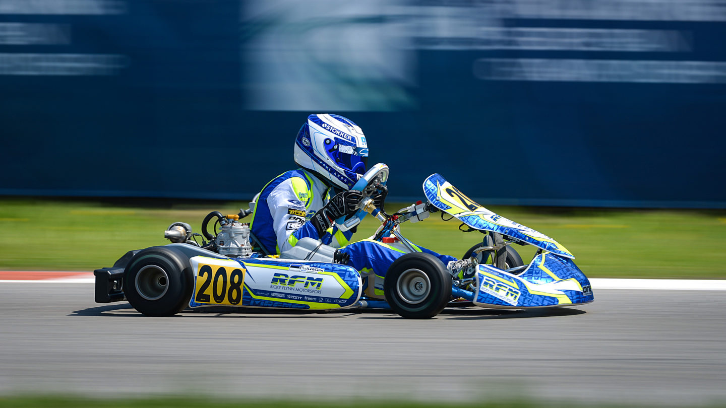 Interstate fia karting identity photography