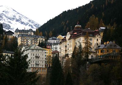 The Town, Bad Gastein, Austria