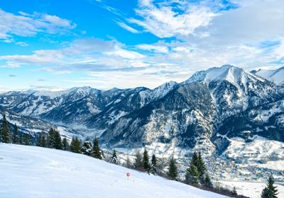 The Skiing, Bad Gastein, Austria