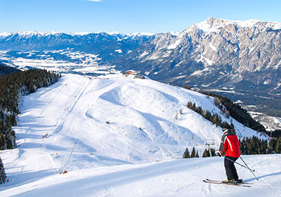 The Skiing, Gerlitzen, Austria
