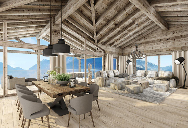 Hollersbach, Hunting Lodge Residences