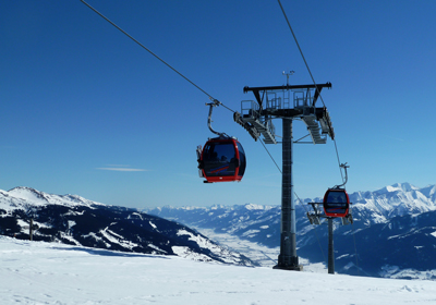 The Skiing, Hollersbach, Austria