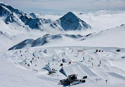The Skiing, Innsbruck, Austria