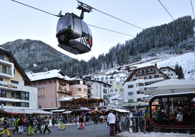 The Town, Ischgl, Austria