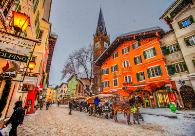 The Town, Kitzbuhel, Austria