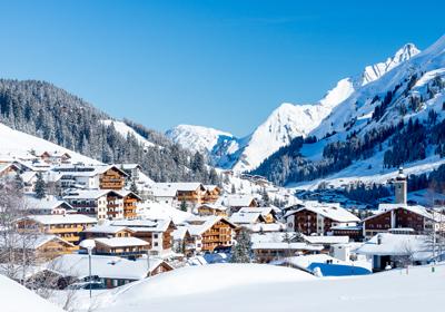 The Town, Lech, Austria