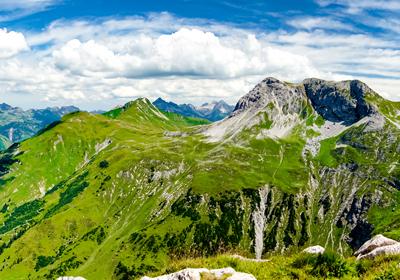 Summer, Lech, Austria