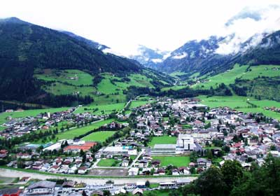 The Town, Mittersill, Austria