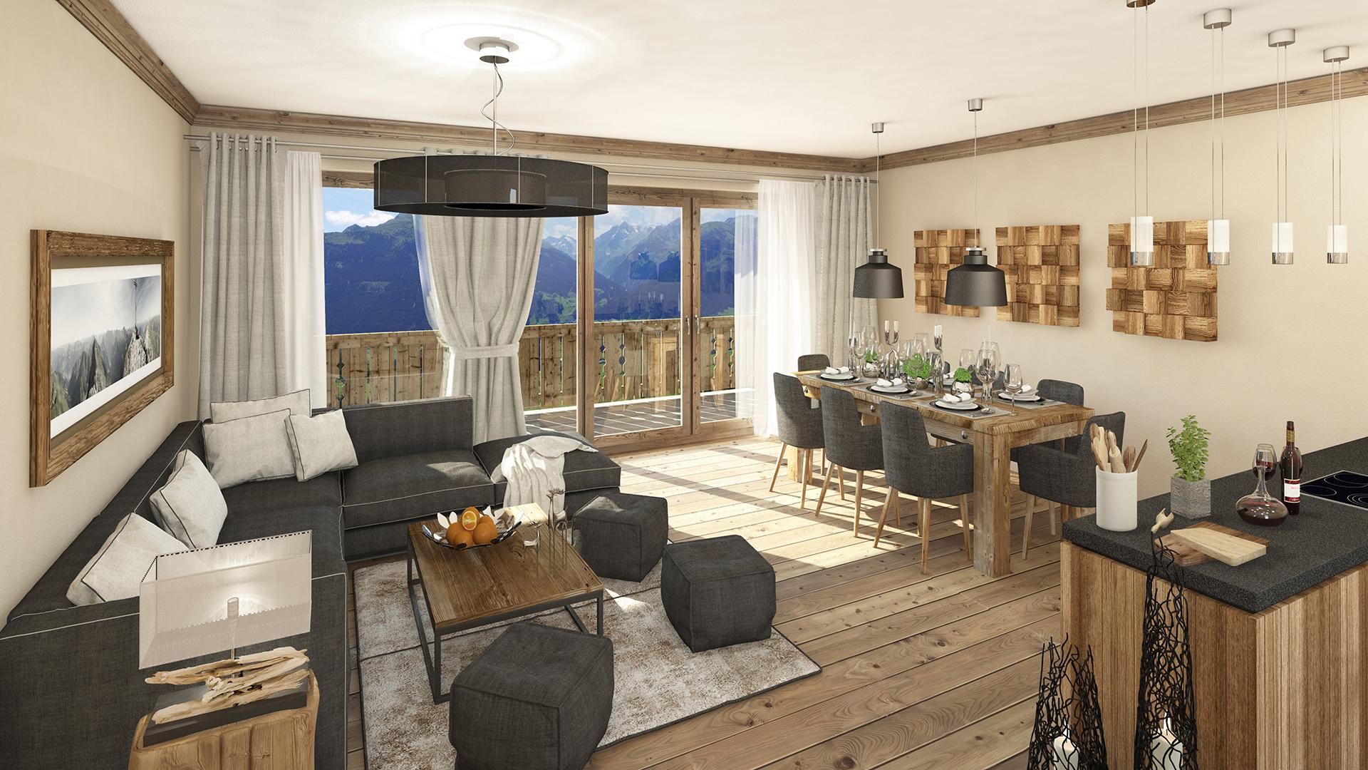 The Kaiser Lodge Apartments, Austria