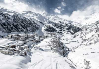 The Town, Obergurgl, Austria