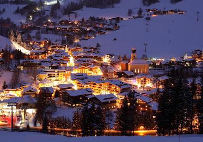The Village, Saalbach-Hinterglemm, Austria