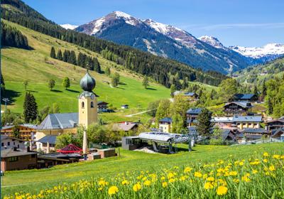Summer, Saalbach-Hinterglemm, Austria