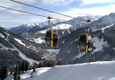 The Skiing, Zillertal Arena, Austria