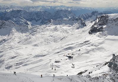 The Skiing, Zugspitz Arena, Austria