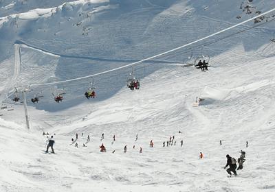 The Skiing, Alpe d'Huez, France