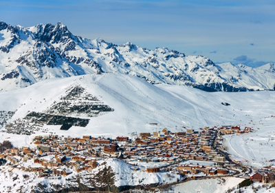 The Town, Alpe d'Huez, France