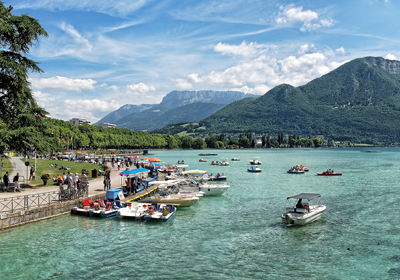 Summer, Annecy, France