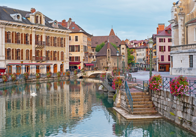The Town, Annecy, France