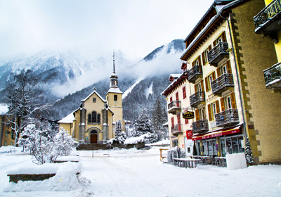 The Town, Chamonix, France
